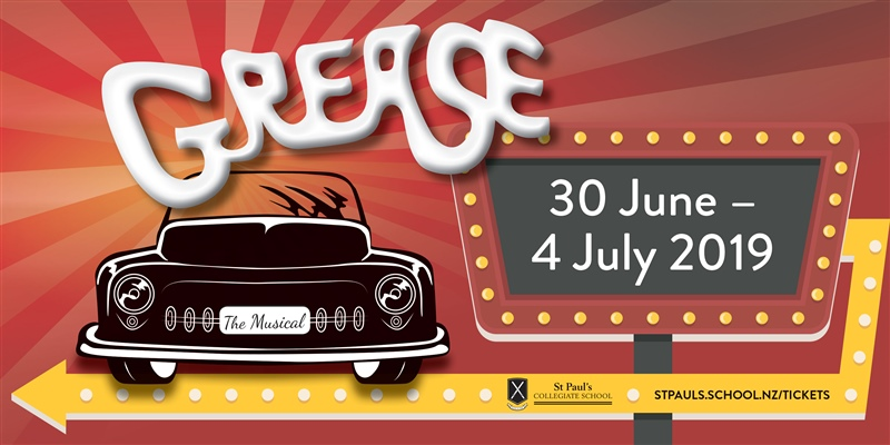 Grease - 2019 school production