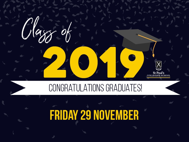 2019 Year 13 Graduation Ceremony and Dinner