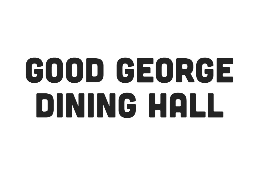 Good George Dining Hall
