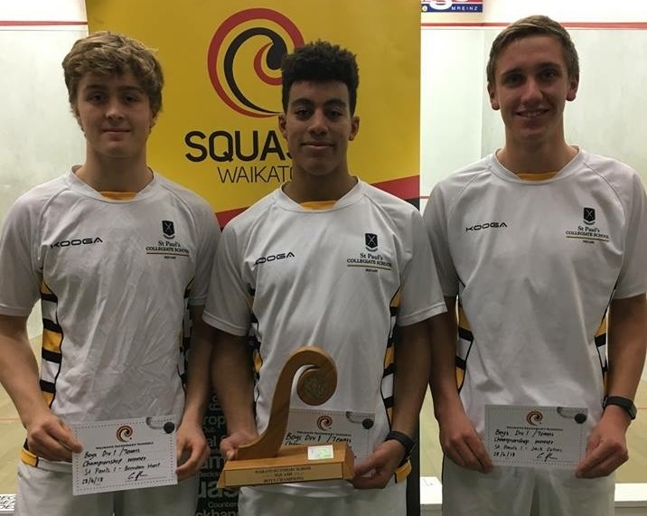 Squash players remain top in region