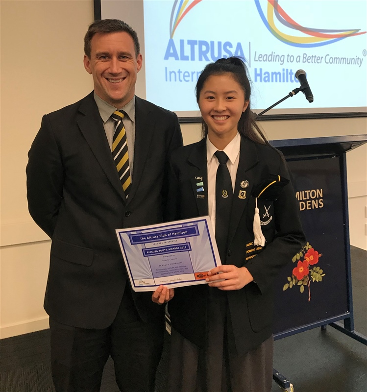 Outstanding Year 12 student recognised