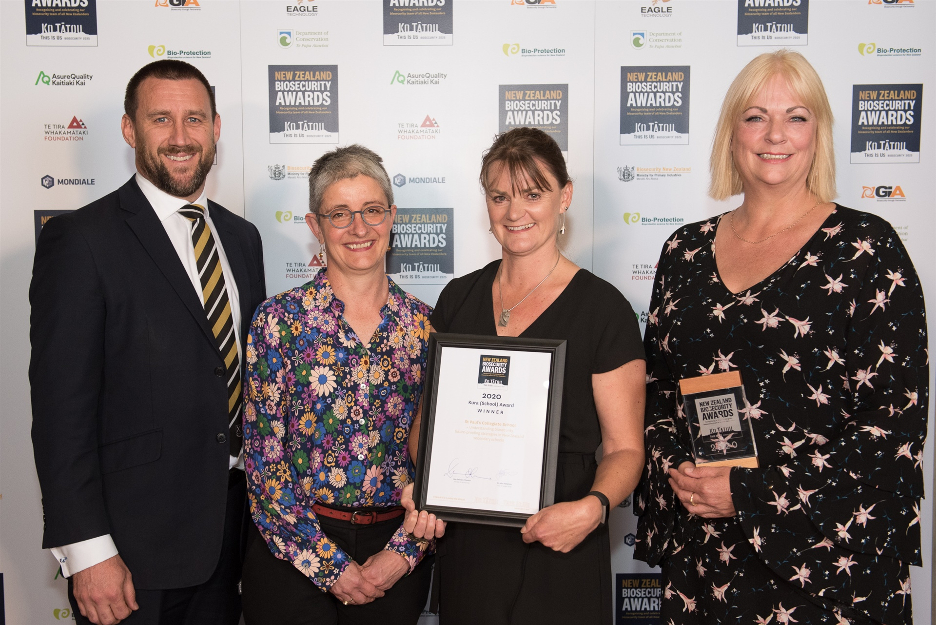 St Paul's wins at biosecurity awards