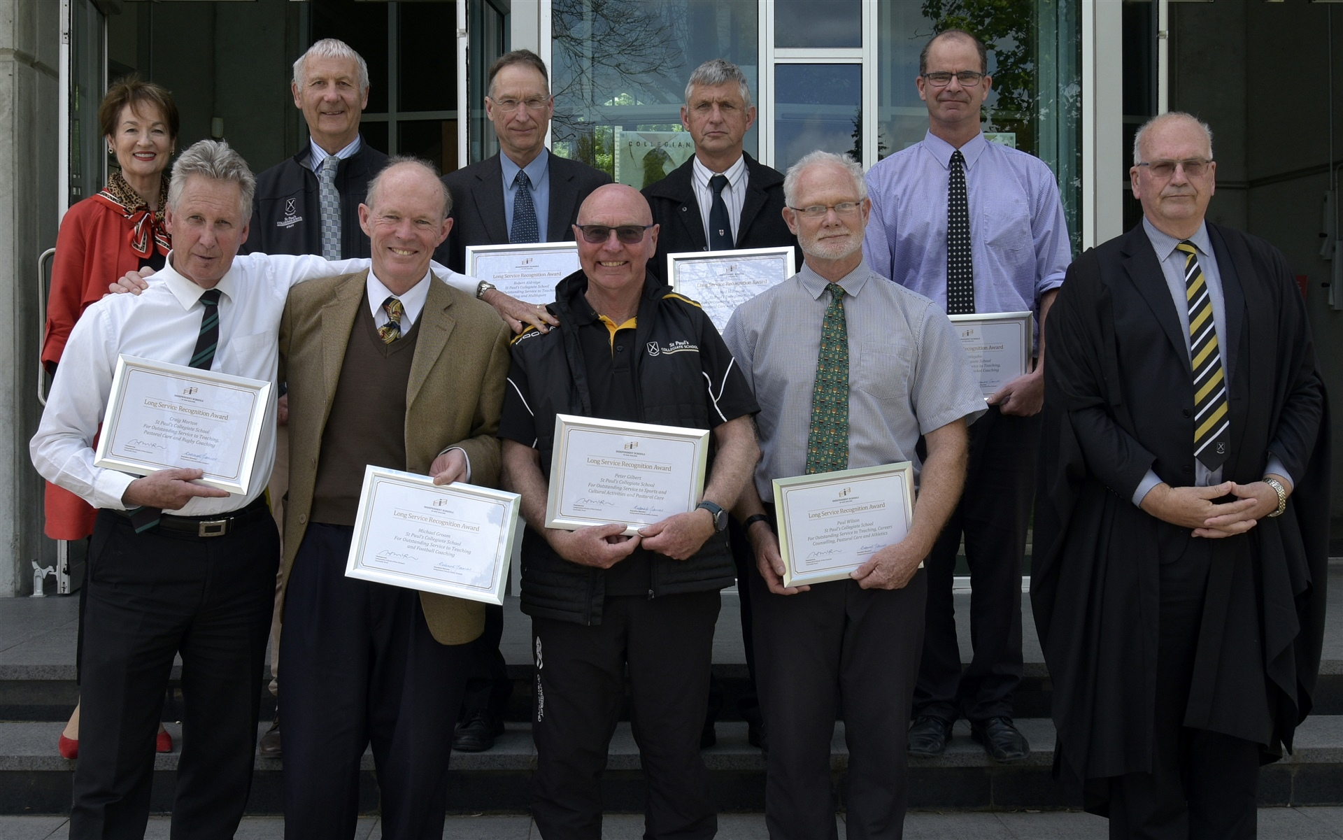 Long serving staff recognised