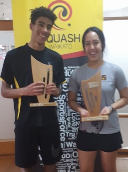 A stroke of squash success