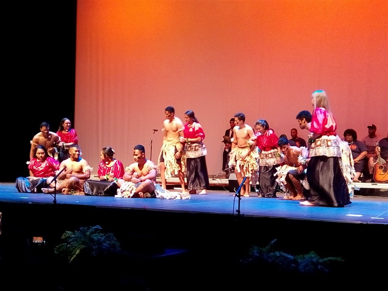 St Paul's joins with Fairfield College at Pasifika festival