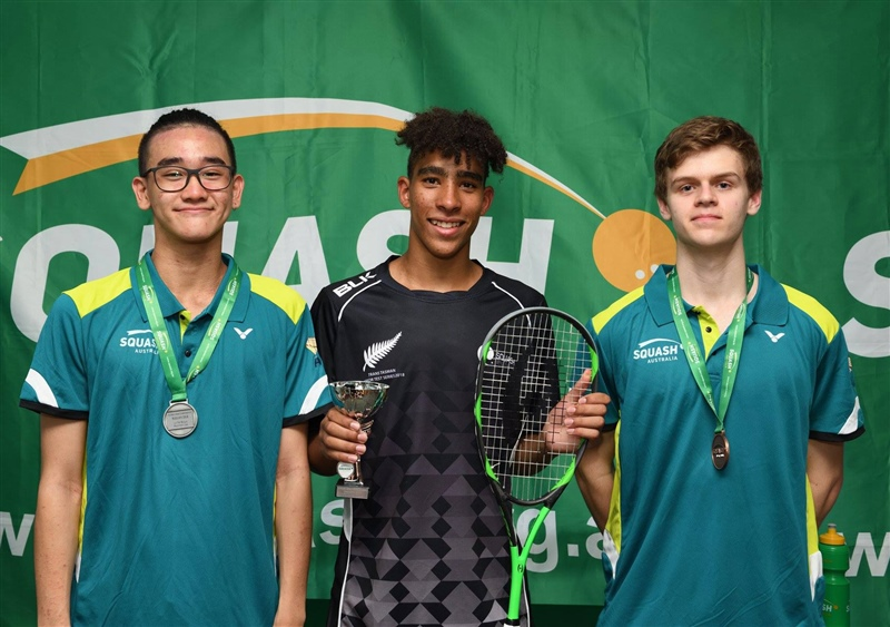 NZ squash players triumph at Oceania championships