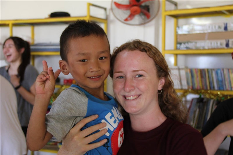 Cambodia volunteering trip sparks a flame in students