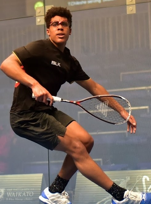 Intense competition at national squash champs