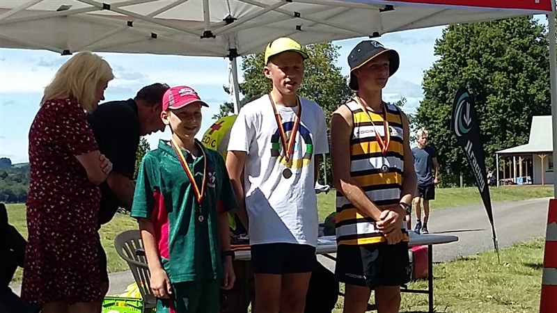 Silver for young triathlete