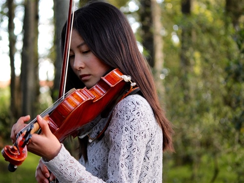 Violinist named member of National Youth Orchestra