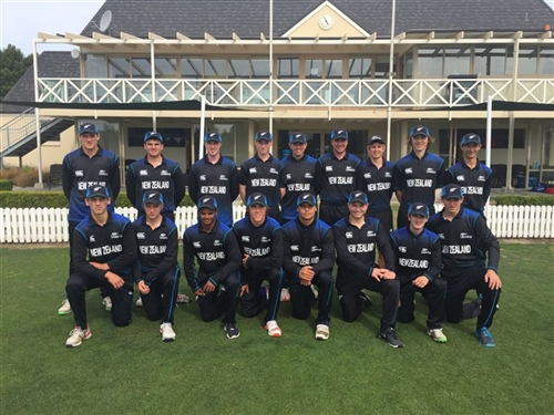 Aspiring Black Cap selected for NZ under-18 side