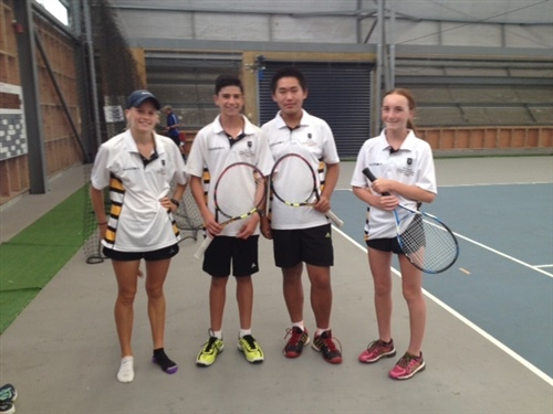 Tennis mixed doubles team ranked fifth in New Zealand