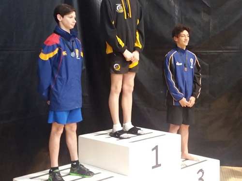 Swimmer's impressive medal haul at Australian competition
