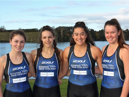 Young rowers compete in world championships