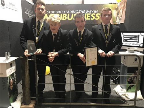 St Paul's student invention wins at Fieldays