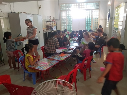 Cambodia trip an eye opener for students