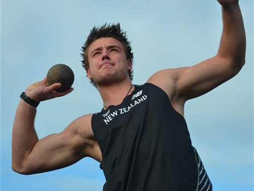 Shot putter Ryan Ballantyne set to qualify for World Juniors