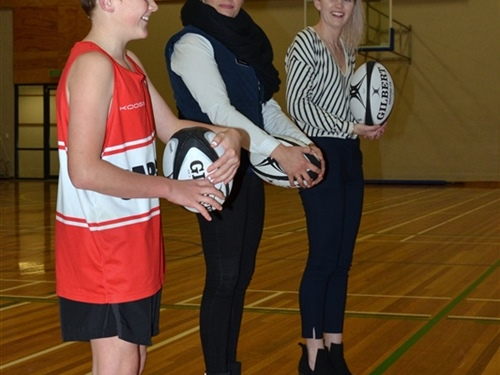 Lucky guess wins rugby balls for local schools