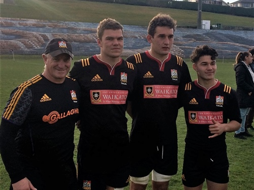 St Paul's hosts Chiefs U18 camp