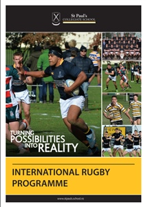 International rugby programme