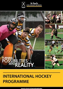 International hockey programme