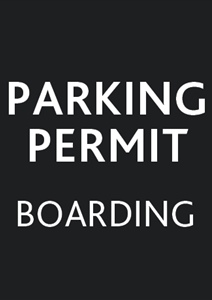 Boarder's Parking Permit