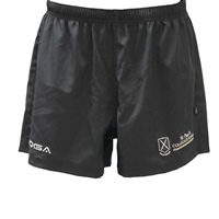 Girls black sports shorts