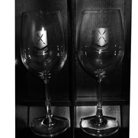 Wine Glass set in presentation box
