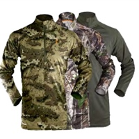Hunters Element prime summer long sleeve t-shirt (Frost green, real tree, camo
